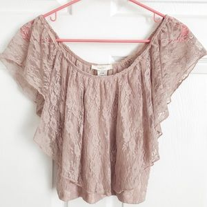 Lacey Crop Top • W Large